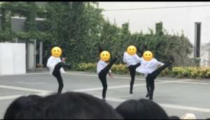 北野高校のダンス