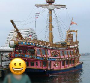 ハーバーランドの定期遊覧船 ヴィラジオ・イタリア号