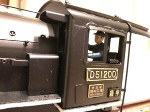 D51 機関士