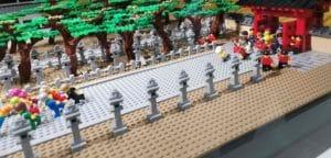 レゴで西宮神社福男選び