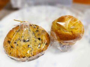 オ・ルヴァン・ダンタンのクッキーとブリオッシュ